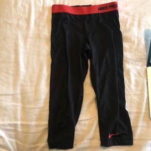 Black Nike Capris